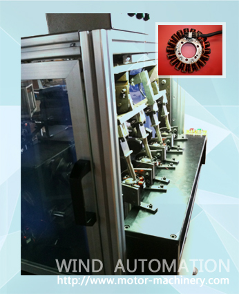 Outrunner Electric motors stator winding machine  WIND-MW-4