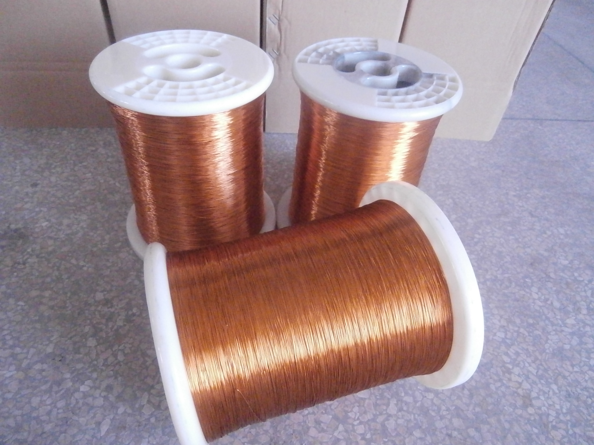 Copper wire enamelled wire for motor winding
