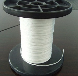 Stator coils lacing cord