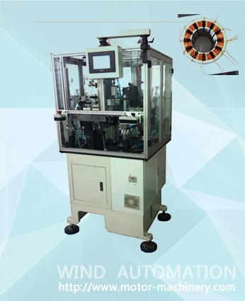 Needle winder for BLDC stator