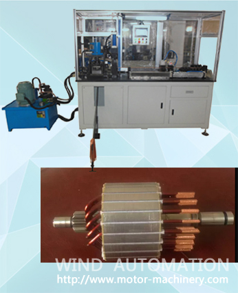 Auto starter armature  coil maker WIND-AWF