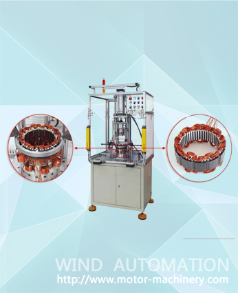 Wave winding and wedge inserting machine for alternator WIND-QX-C