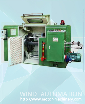 WIND-650P-LW Litz wire forming machine