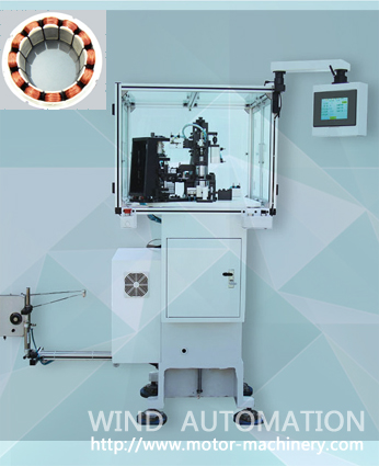 Muti pole stator winding machine WIND-TSM series