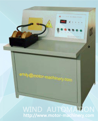 Magnet ferrite charger charging machine