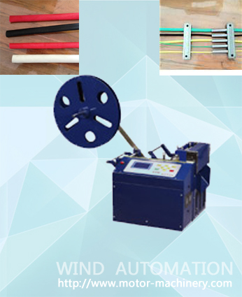 Stator cable cutting machine