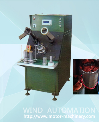 Single phase AC motor stator coil winding insertion machine WIND-80-CWI
