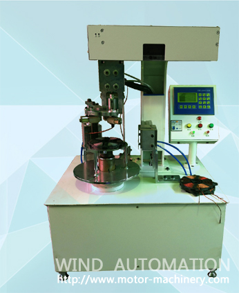 Induction heater coil disk winding machine simple WIND-IH-SW1