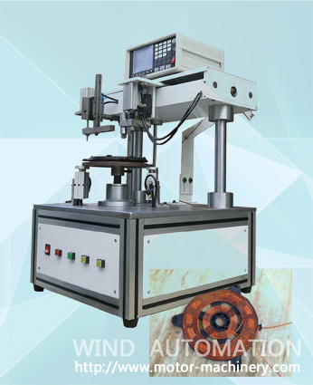IH disk winding machine