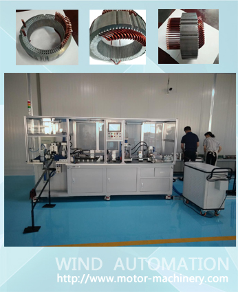 Aircraft areo flat wire hairpin forming shape the generator conductor wire forming bending machine WIND-AWF