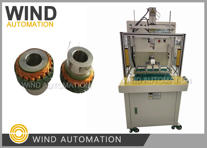 Resolvers Motor Stator Flyer Winding Machine For Electrical Car